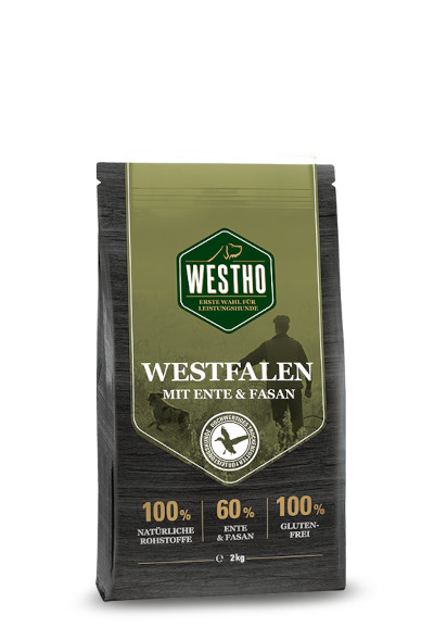 Westfalen 2,0 kg (mit 60 % Ente & Fasan)