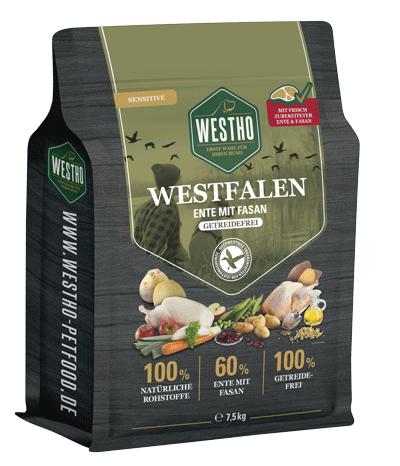 Westfalen 7,5 kg (mit 60 % Ente & Fasan)
