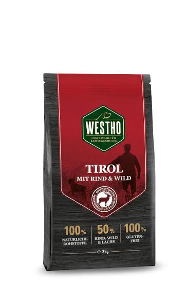 Tirol 2,0 kg (mit 50 % Rind, Wild & Lachs)