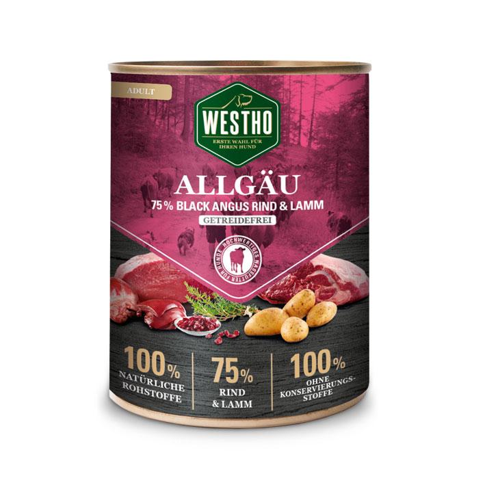 Allgäu 800g (mit 75 % Black Angus Rind & Weidelamm)