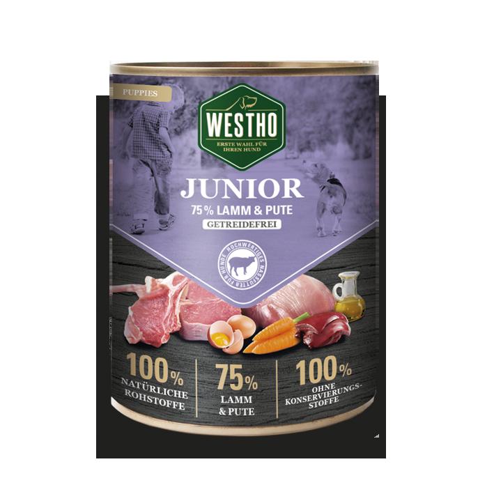 Junior 800g (mit 75 % Weidelamm & Pute)