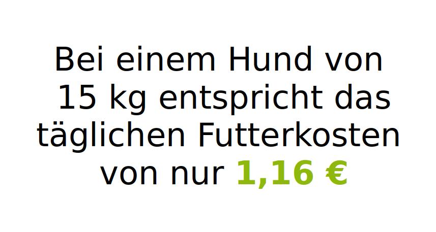 Sparpaket Tirol 15 kg (mit 50 % Rind, Wild & Lachs)