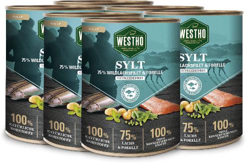 Sylt 800g (mit 75 % Wildlachs & Forelle)