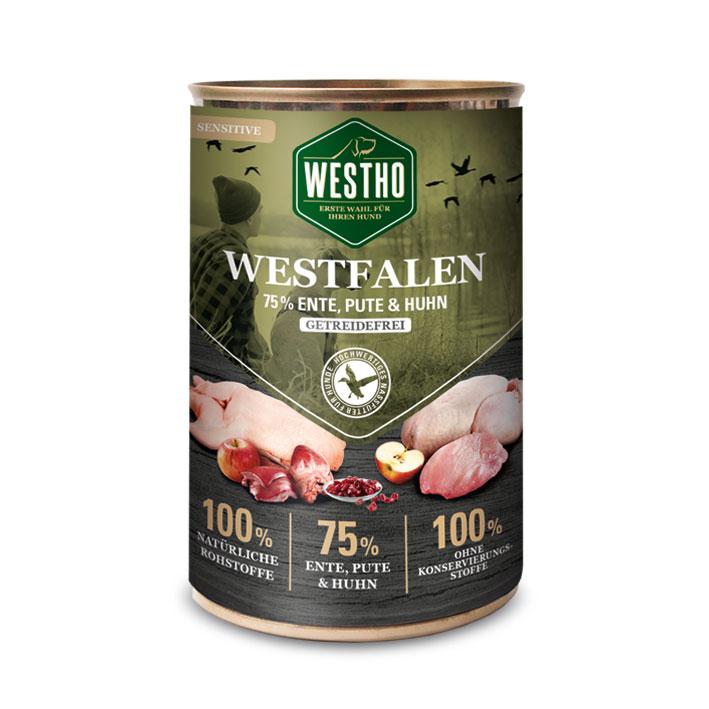 Westfalen 400g (mit 75 % Wildente, Pute & Huhn)