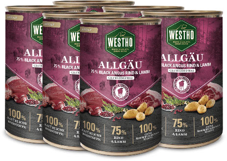 Allgäu 400g (mit 75 % Black Angus Rind & Weidelamm)