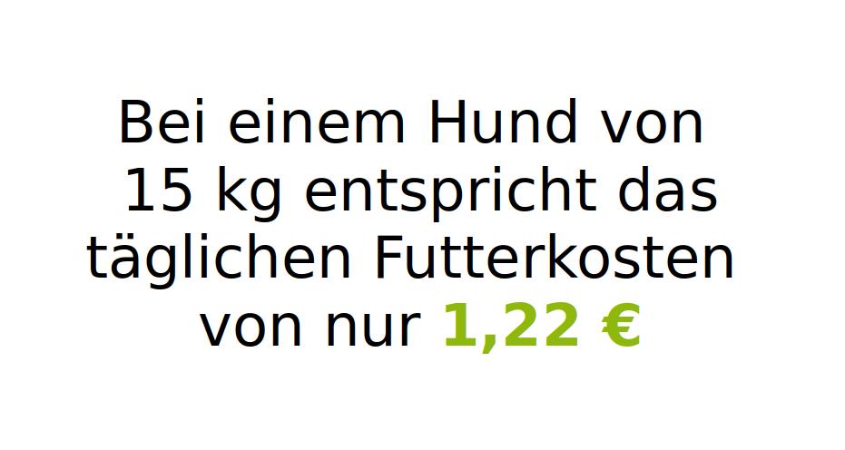 Tirol 7,5 kg (mit 50 % Rind, Wild & Lachs)